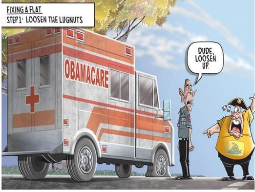 Obamacare hits a road bump.