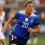 Abby Wambach gets ready for her final World Cup