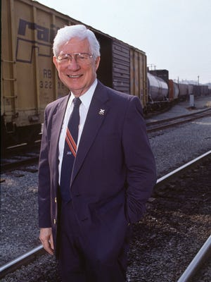 Gil Carmichael, former federal railroad administrator, and two-time Mississippi candidate for governor