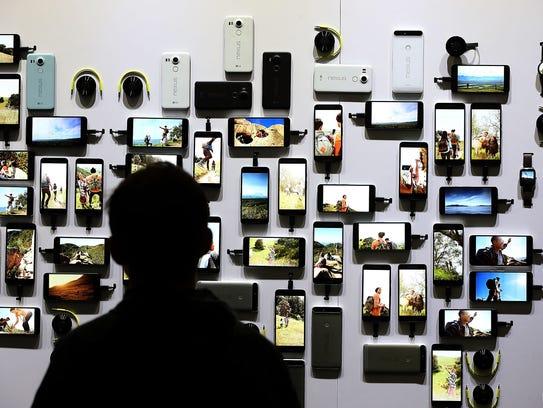 Google unveiled its 2015 smartphone lineup, the Nexus