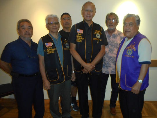 Members of the Guam Tano-Ta Branch Lions Club recently