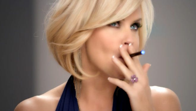 Actress and former Playboy model Jenny McCarthy is pitching a brand of electronic cigarettes owned by Lorillard, the nation's third-largest tobacco company.