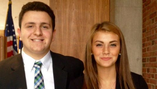 Max Breit, left, and Taylor Quinton will compete in the Young Entrepreneurs Academy regional round later this week.