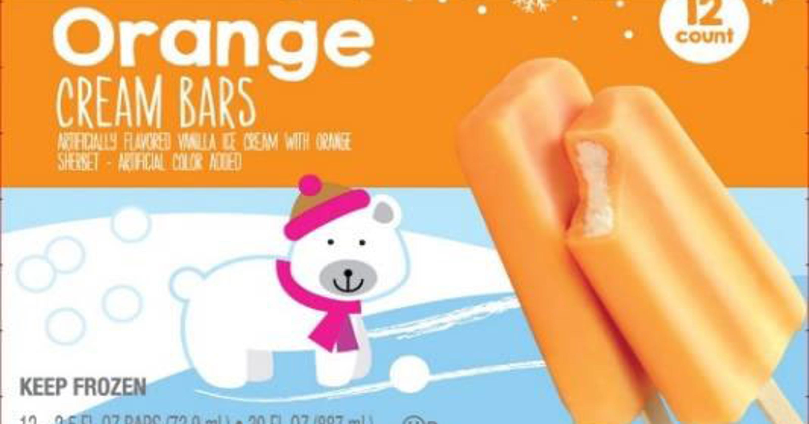 ice cream bars at aldi kroger meijer recalled for possible listeria