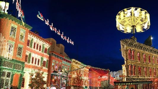 The Osborne Family Spectacle of Dancing Lights in Disney World, Fla.