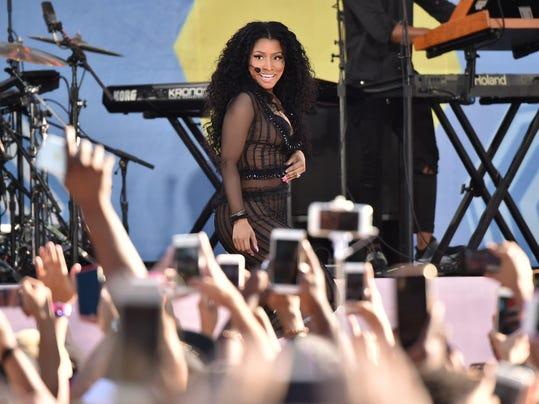 "Nicki Minaj Performs On ABC's ""Good Morning America"""