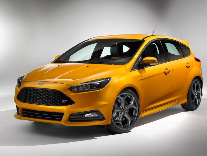 The refreshed 2015 Ford Focus ST.