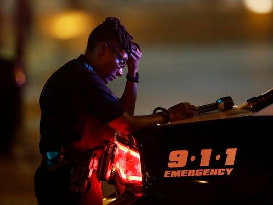 AP POLICE SHOOTINGS PROTESTS DALLAS A USA TX