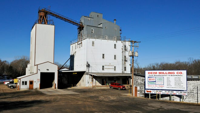 Heim's mill has been owned and operated by the Heim family since 1900.