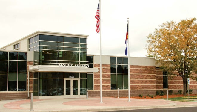 The newly-renovated Mount Antero student center building open this semester on the Larimer Campus of Front Range Community College.