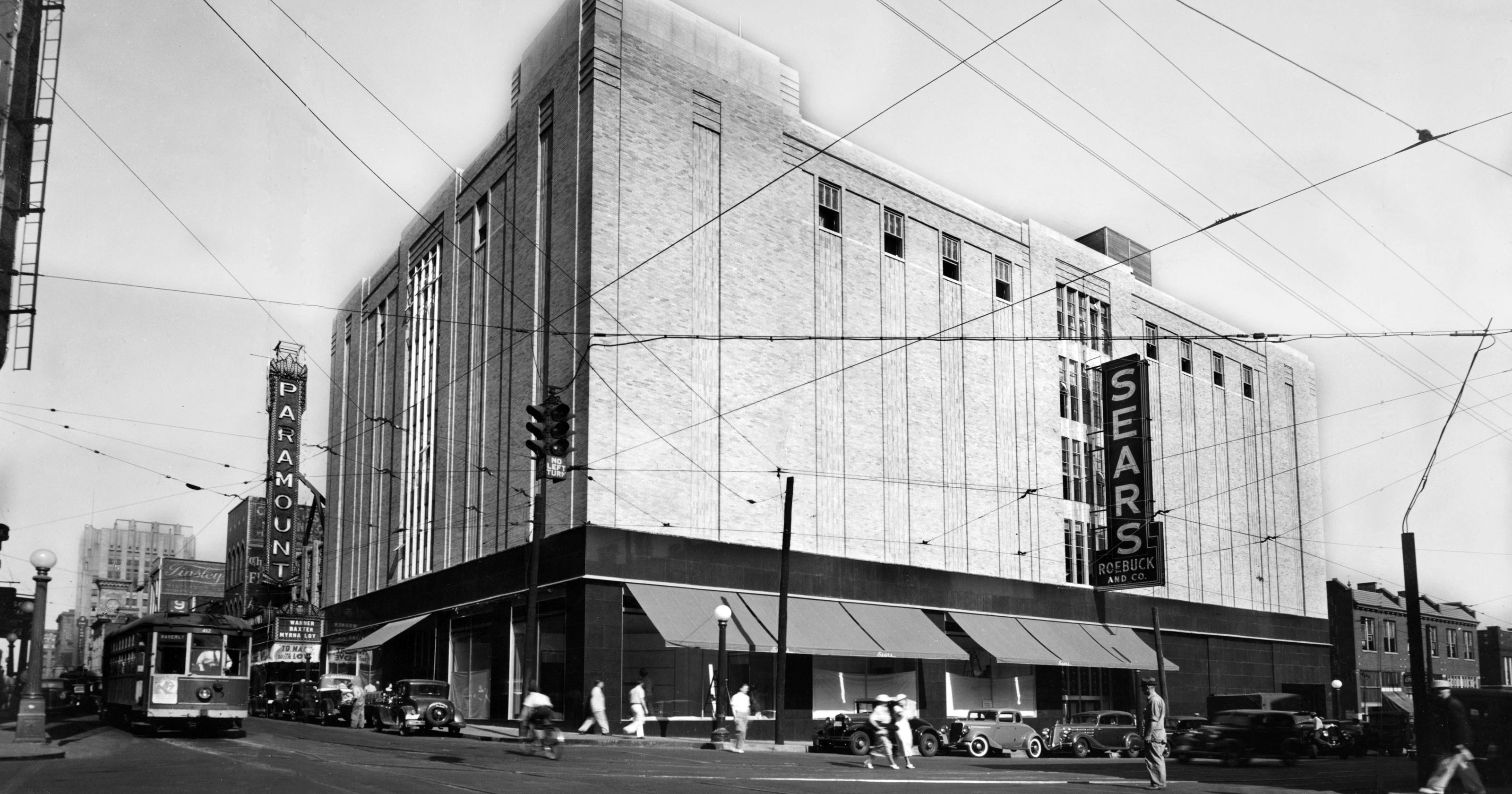 Sears in Nashville Over the Years