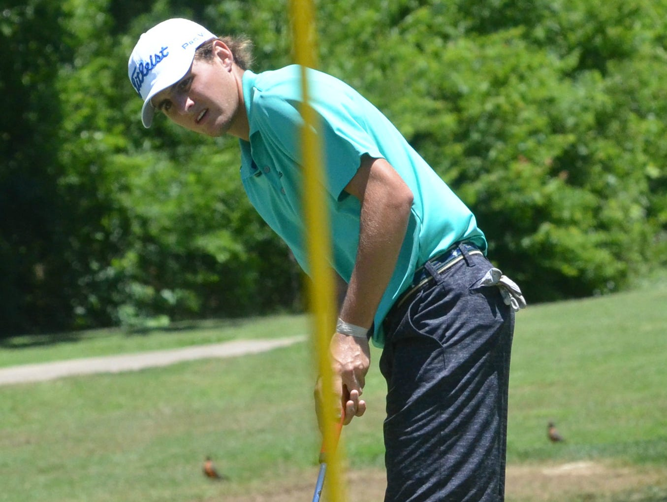 Defending champion Cooper Sears suffered a quarterfinal defeat on Wednesday.