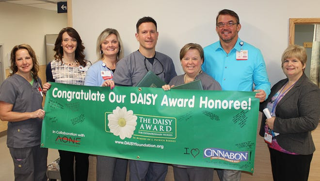 James Harrington, RN and Janis McCrackin, BSN, RN, were honored in November with the DAISY Award for Extraordinary Nurses.