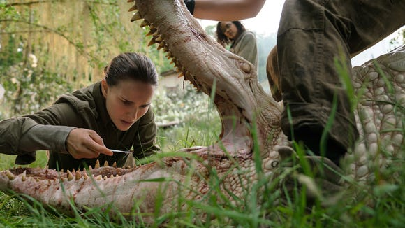 Natalie Portman stars as a biologist investigating a mysterious envrironmental occurrence in the sci-fi horror film 'Annihilation' (Feb. 23).