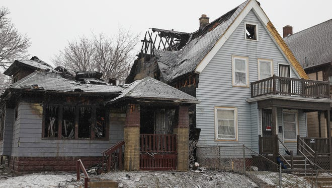 Fire damaged two homes in the 3200 block of N. 21st St. on Dec. 28. The buildings are in one of the 10 ZIP codes to which the American Red Cross of Wisconsin had said it no longer would send volunteers after fires. It since has rescinded that change.