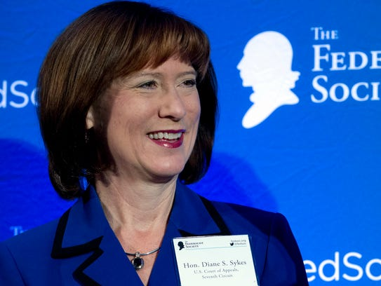 Judge Diane Sykes of the U.S. Court of Appeals for