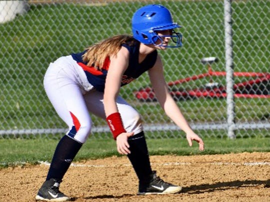 In addition to softball, Jessie Gohde is a three-year