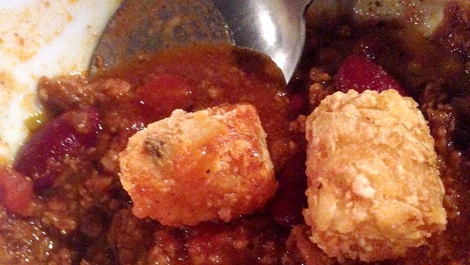 The chili and tater tots at Breck's are a go.