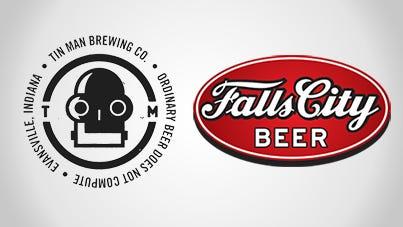 Tin Man, Falls City logos