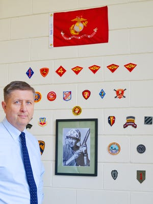 Paul Anderson, a U.S. Marine Corps veteran with 33 years of service, has just joined Fairleigh Dickinson University as director of veterans services.