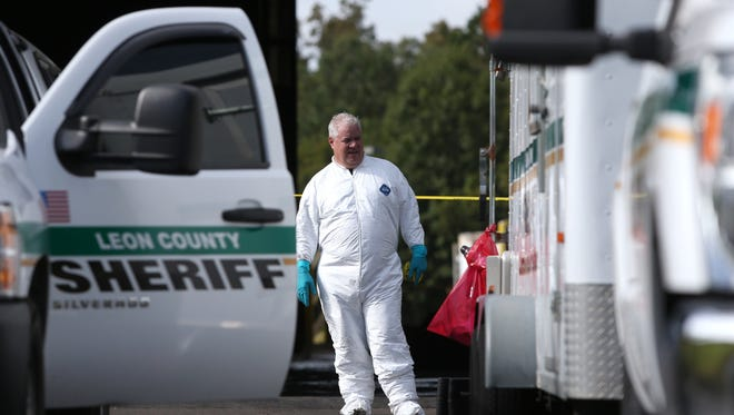 The Leon County Sheriffs Office was called to the scene at the solid waste transfer station on Gum Road after workers found a body Thursday morning.
