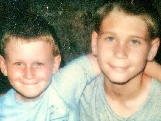 Brandt, left, and Haymes Snedeker grew up playing golf