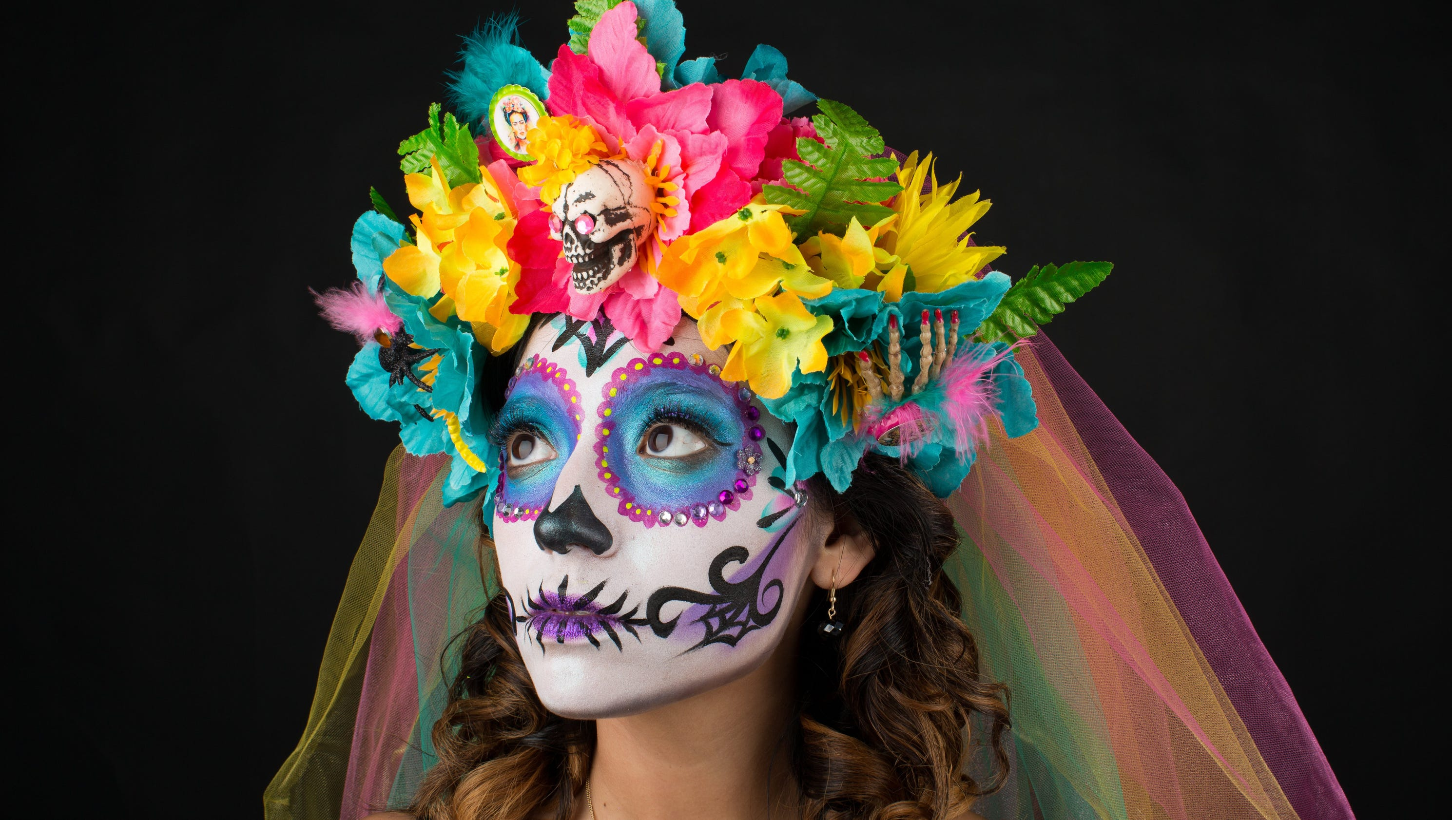 how to do sugar skull makeup in 10 steps