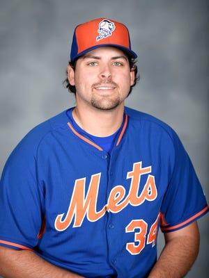 Binghamton Mets pitcher Michael Fulmer
