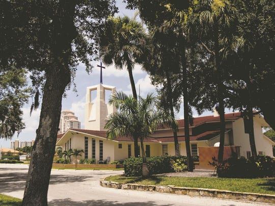 St. Francis Xavier Church in Fort Myers.