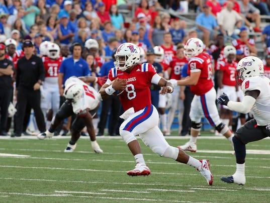 South Alabama at Louisiana Tech football