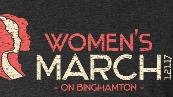 Hundreds are expected to march on downtown Binghamton Saturday.