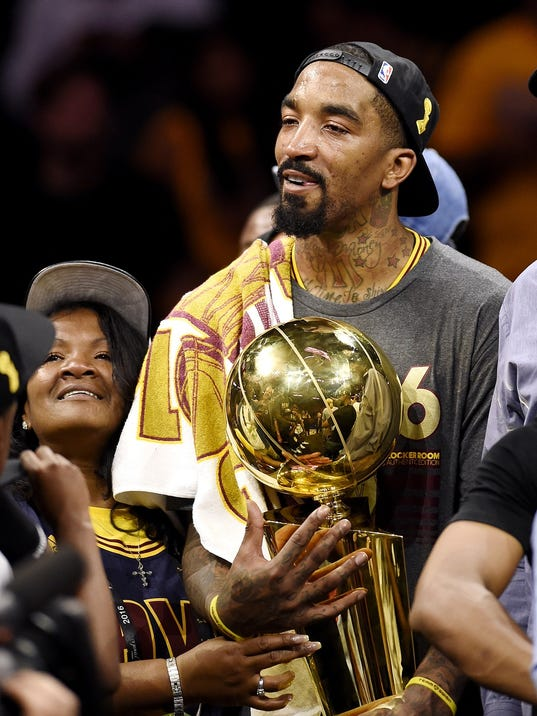NBA Finals: J.R. Smith, family rise above scrutiny