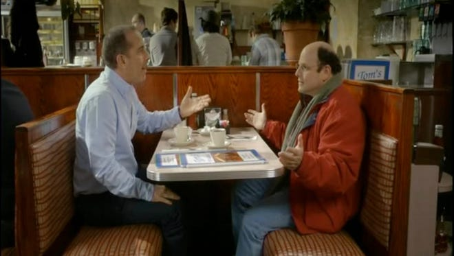 'Comedians in Cars Getting Coffee' with Jerry Seinfeld and Jason Alexander.