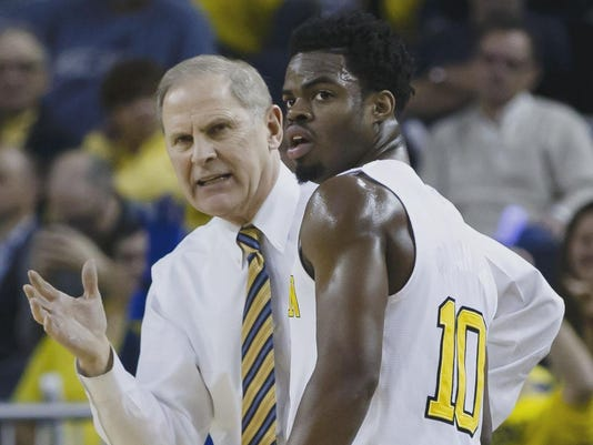 NCAA Basketball: Maryland at Michigan