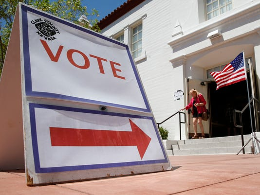AP VOTER ROLLS CUT NEVADA A FILE USA NV