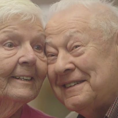 Sparks fly between two perfect strangers at an assisted