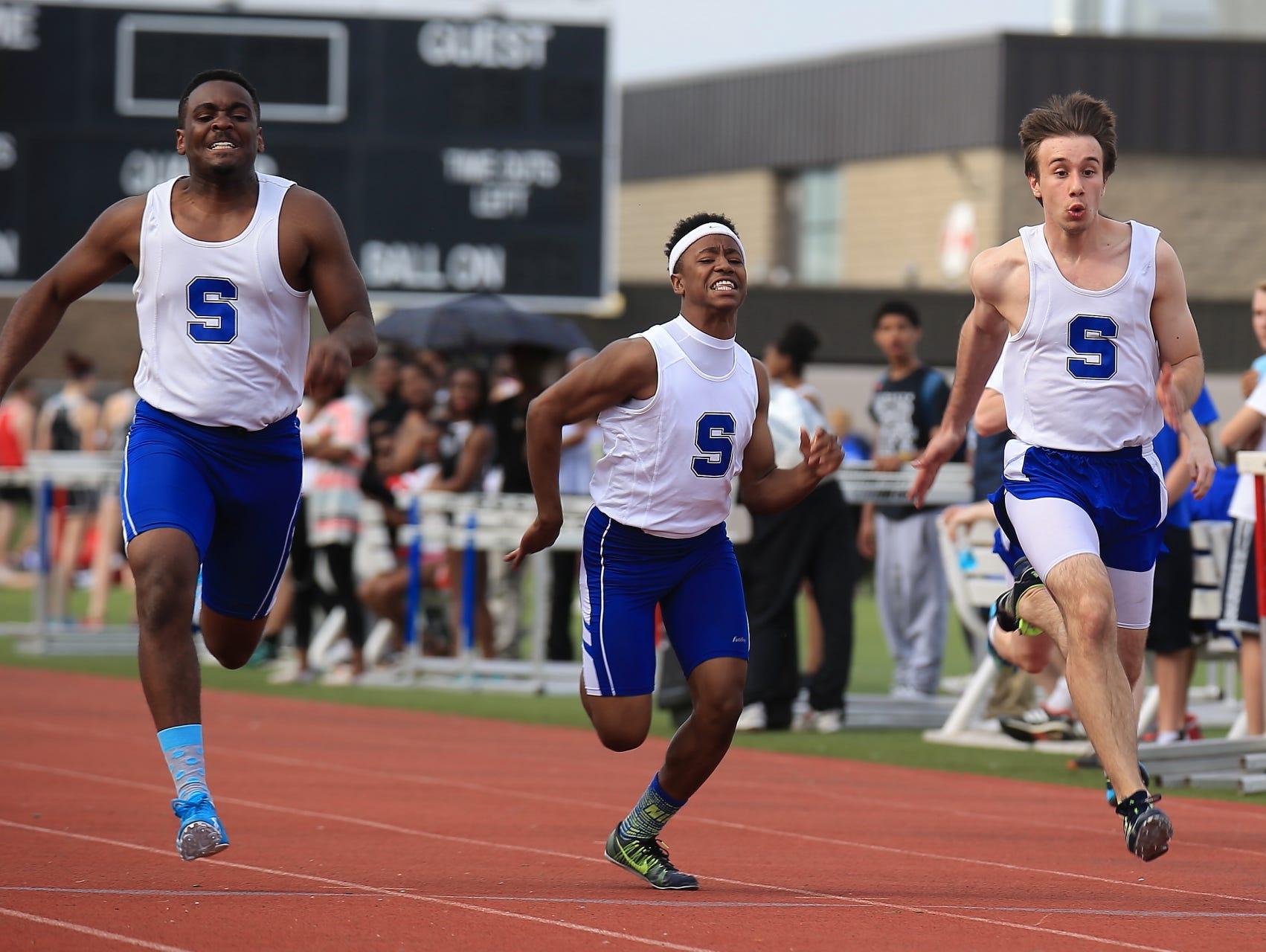 Salem's varsity boys track team continues to excel.