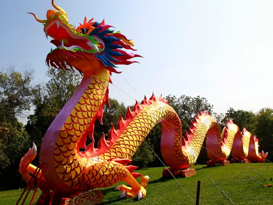 This 200-foot-long undulated dragon is one of the most