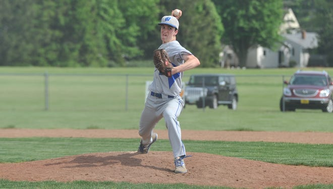 Noah Smith pitched in all four tournament games for Wynford this postseason.