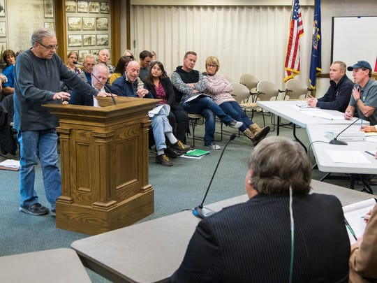 Cedar City officials meet with members of  the public to discuss rules concerning short-term housing rentals Thursday, October 11, 2018.