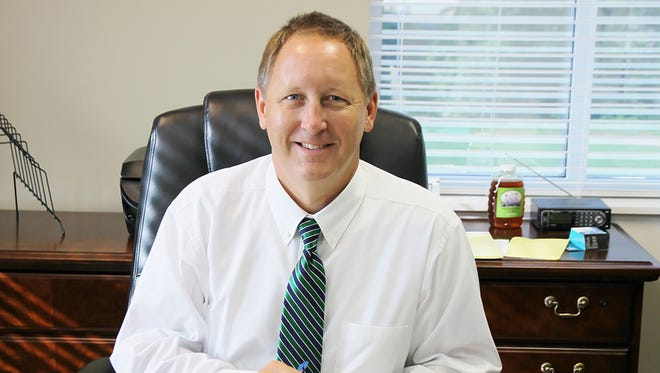 Fairview City Manager Scott Collins is in his first month on the job and assessing Fairview.