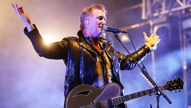 Josh Homme of Queens of The Stone Age performs during Splendour in the Grass 2017 in Byron Bay, Australia.