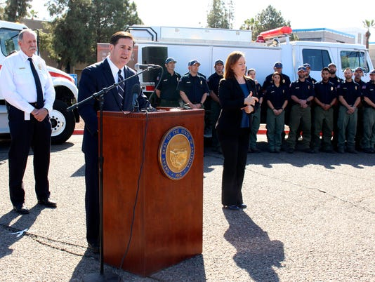 Gov. Doug Ducey on wildfire season
