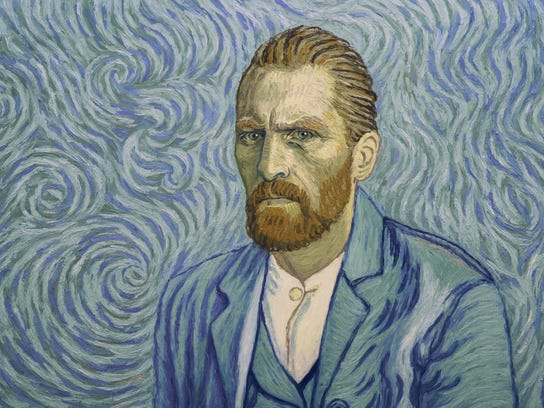 "Vincent (Robert Gulaczyk) in ""Loving Vincent."""