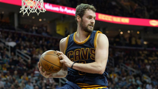 Kevin Love's first foray into the postseason lasted less than four games.