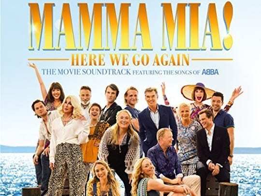 "The soundtrack for ""Mamma Mia! Here We Go Again"""