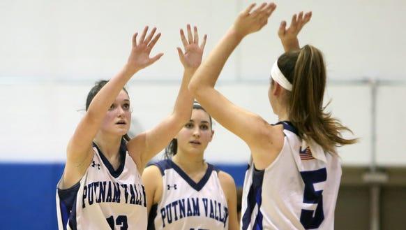 Putnam Valley defeated Edgemont 58-19 in girls playoff