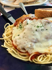 The chicken Parmesan from 41 Diner in San Carlos Park.