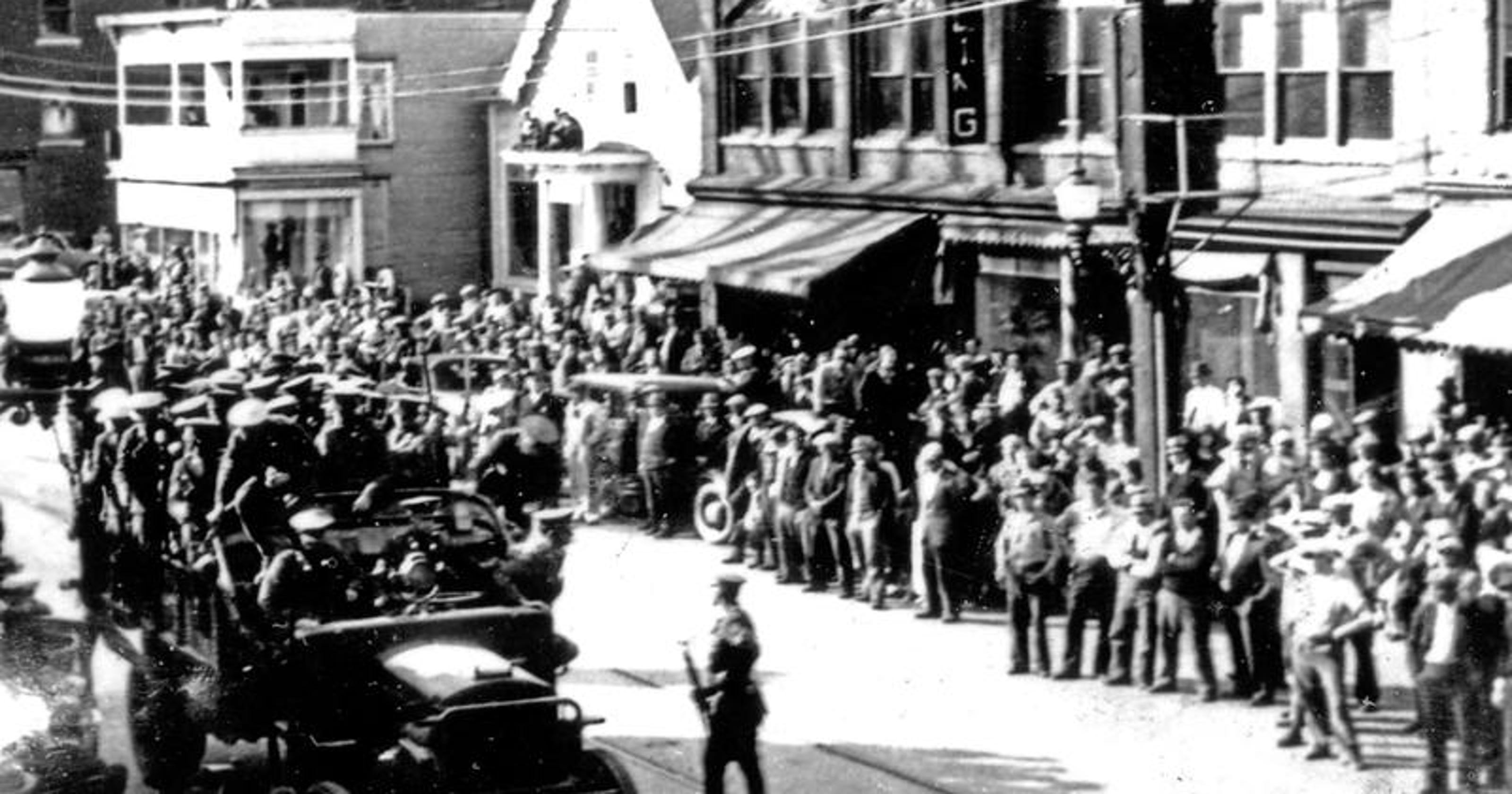 History of Vermont strikes include dynamite, sabotage and