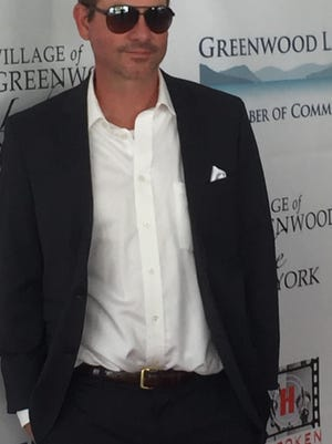Chad Dossett at a film festival.